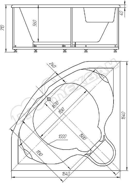 Душевой лоток Viega Advantix Vario Set 704353 (дизайн-вставка ...