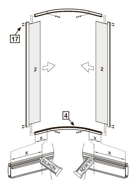 инструкция по сбору душевой кабины - фото 10