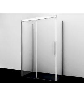 Душевой уголок П-образный прямоугольный с раздвижной дверью WasserKRAFT Kammel 18S21