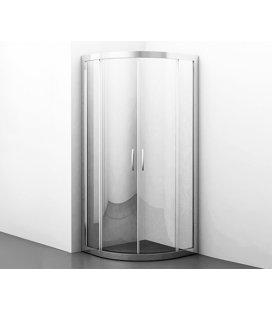 Душевой уголок сектор с раздвижными дверьми WasserKRAFT Isen 26S01