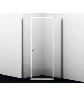 Душевой уголок пятиугольный с распашными дверьми WasserKRAFT Leine 35P11
