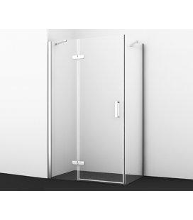 Душевой уголок прямоугольный с левой распашной дверью WasserKRAFT Aller 10H07L