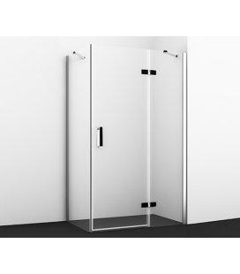 Душевой уголок прямоугольный с правой распашной дверью WasserKRAFT Aller 10H07RBLACK MATT