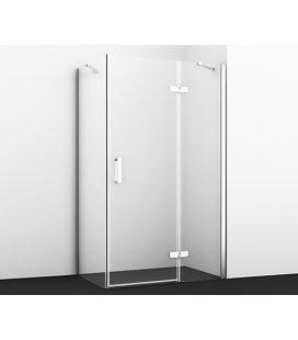 Душевой уголок прямоугольный с правой распашной дверью WasserKRAFT Aller 10H06RWHITE