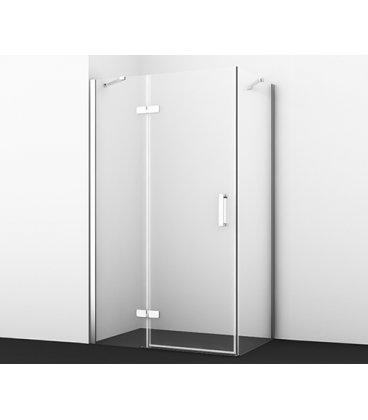 Душевой уголок прямоугольный с левой распашной дверью WasserKRAFT Aller 10H07LWHITE