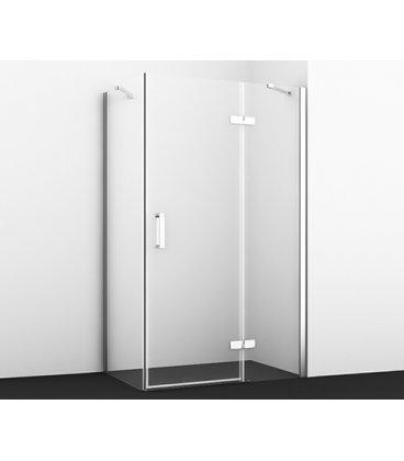 Душевой уголок прямоугольный с правой распашной дверью WasserKRAFT Aller 10H07RWHITE