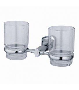 Подстаканник двойной стеклянный WasserKRAFT Oder K3028D