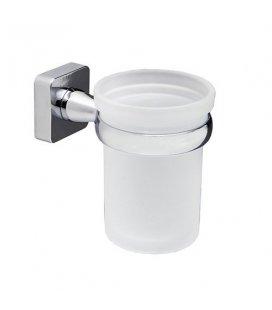 Стакан для зубных щеток стеклянный WasserKRAFT Lippe K6528