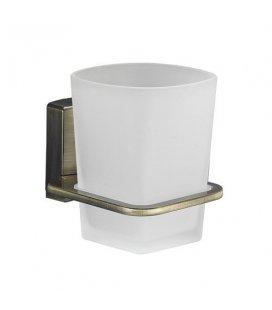 Стакан для зубных щеток стеклянный WasserKRAFT Exter K5228