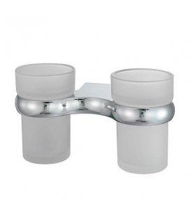 Подстаканник двойной стеклянный WasserKRAFT Berkel K6828D