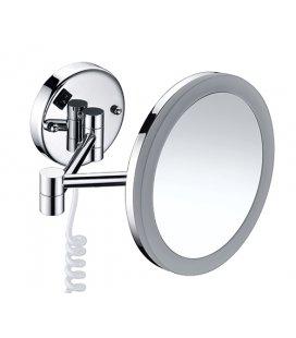 Зеркало с подсветкой х кратным увеличением WasserKRAFT K1004 LED