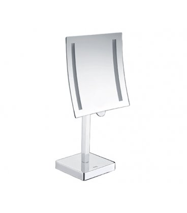 Зеркало с подсветкой х кратным увеличением WasserKRAFT K1007 LED