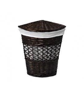 Плетеная корзина для белья с крышкой WasserKRAFT Salm WB270L