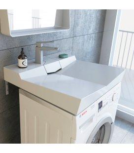 Раковина над стиральной машинкой Andrea Angy 600x600x107 мм